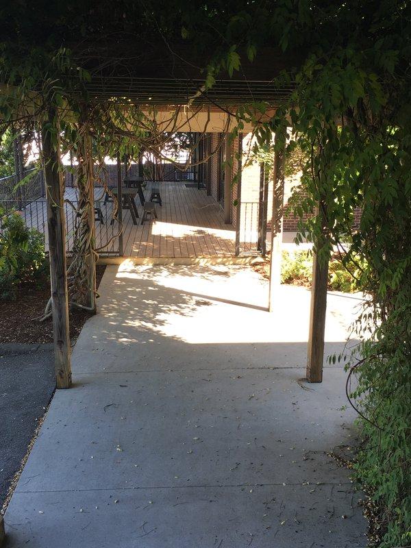 trellis walkway