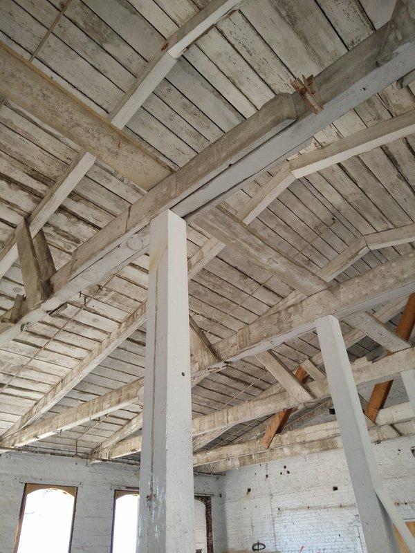 Alpine Mill rafters