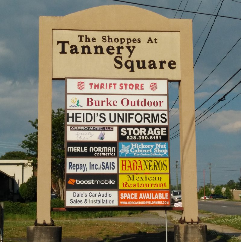 Tannery Sign