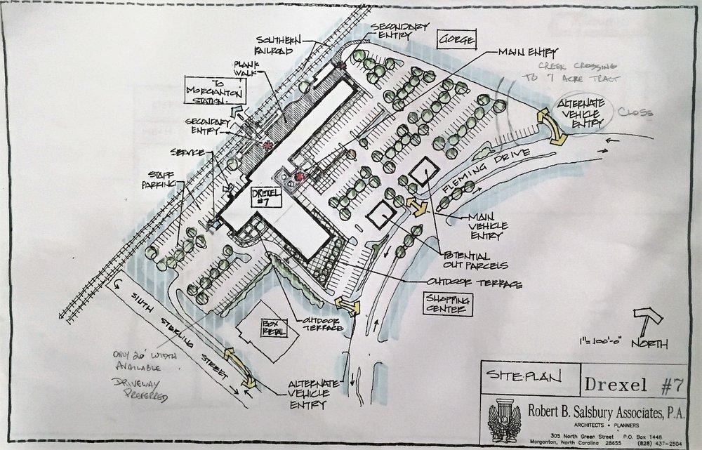 Alpine Mill Site Plan