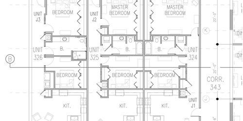 J1 J2 J3 Hoop Truss Floor plans